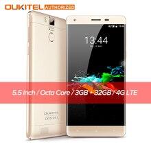 "Оригинал K6000 OUKITEL Pro 4 Г Смартфон MTK6753 Окта основные Android 6.0 3 ГБ RAM 32 ГБ ROM 5.5 ""Экран 13.0MP 6000 мАч Мобильный телефон"