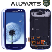 TESTED For SAMSUNG Galaxy S3 Display I9300 Touch Screen Digitizer Replacement For SAMSUNG Galaxy S3 LCD