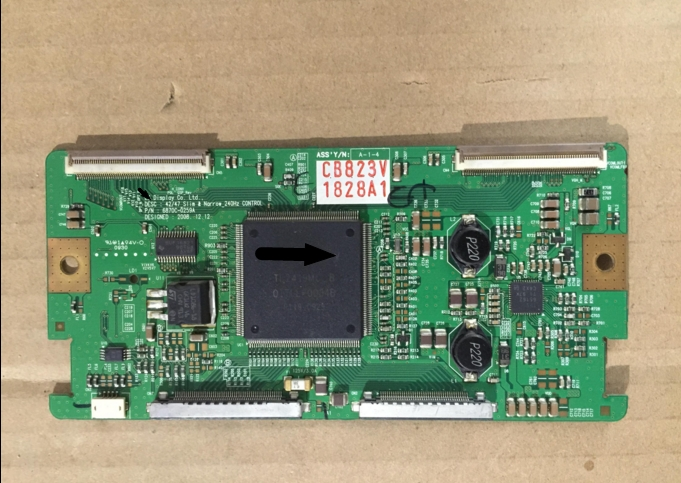 6870C-0259A LCD Board Logic board for 42/47 <font><b>240Hz</b></font> connect with T-CON connect board image
