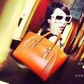 2015 venda quente saco médio ( 30 - 50 cm ) dois Interior bolso com zíper Bolsa Bolsa Bolsas nova europeu saco portátil Retro todo em jogo serpente