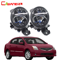 Cawanerl For Nissan Sentra 2004 2015 2 Pieces 100W H11 Car Styling Halogen Fog Light DRL