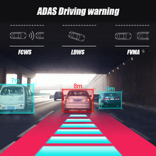 Junsun 4G ADAS Car Dashcam Android WiFi DVR Camera FHD 1080P Dual Lens Auto Dash Cam Navi GPS Adjustable Screen Parking Monitor