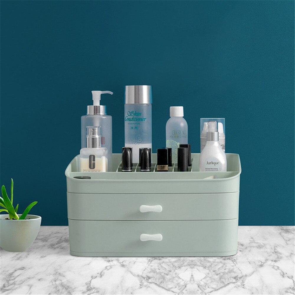 Minimaliste Chic tiroir de rangement en plastique nouveau bureau rangement tiroir boîte organisateur articles divers cosmétiques conteneur pour la maison bureau décor