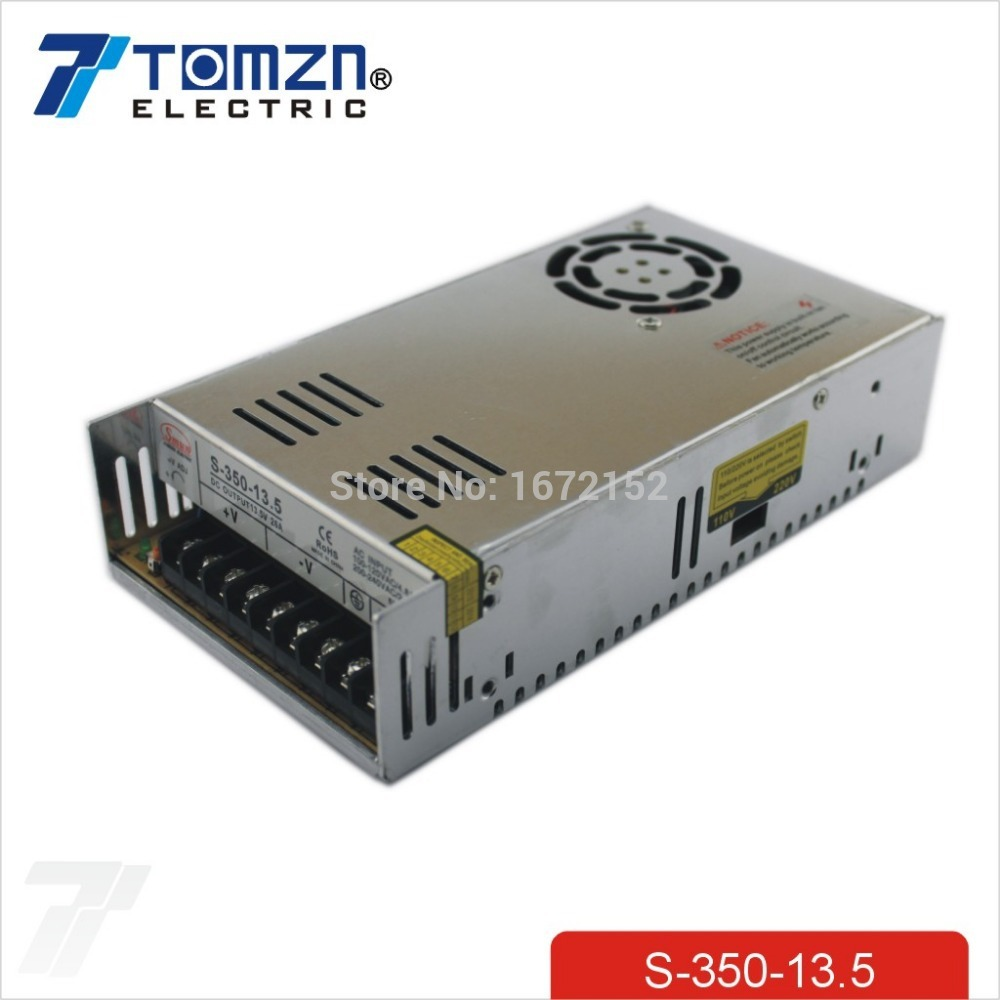 350W 13.5V 26A Single Output Switching power supply for LED Strip light AC to DC 350w 60v 5 8a single output switching power supply ac to dc for cnc led strip