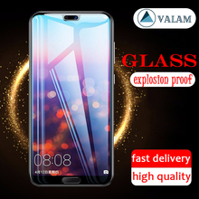 P20 full Cover Tempered Glass Screen Protector For Huawei P20 Pro Glass Film For Huawei P20 lite P20 pro Protective Glass Cover cheap VALAM Front Film P30 Pro Mobile Phone Protector glass 2 5D 0 03mm Safe Black Impact resistant Anti fingerprint Prevent scratches