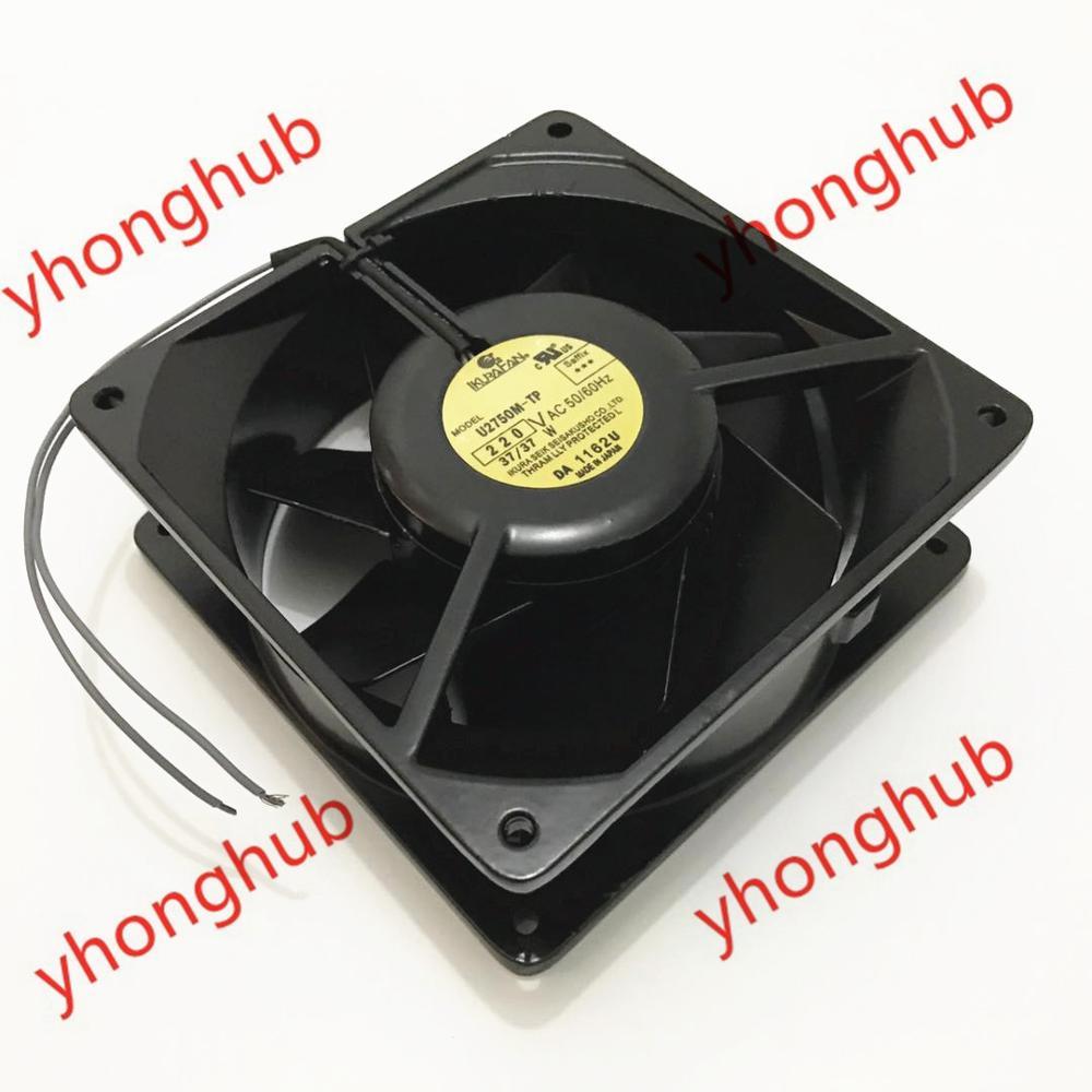 Emacro For IKURA U2750M TP AC 220V 37W 50 60Hz 140x140x50mm Server Cooler Fan
