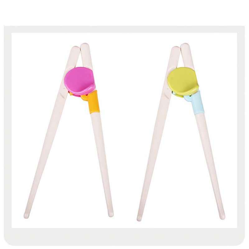 1 çift 2 + yaş Çocuk Çubuklarını Çocuklar Bebek Öğrenme Eğitim Çubuklarını Sağ El Ev çocuk Ürünleri Yeni