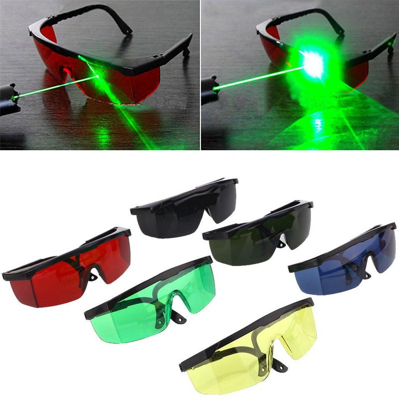 Giantree Red Blue Laser E-light Safety Protective Eyeglass Goggles Laser Protective Eyewear Removal Security-Dark Green