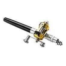 Lightweight Portable Fishing Rod Combo Set Pen Reel with Rod Mini Telescopic Fishing Rod Pole + Reel Pocket Fishing Reel set