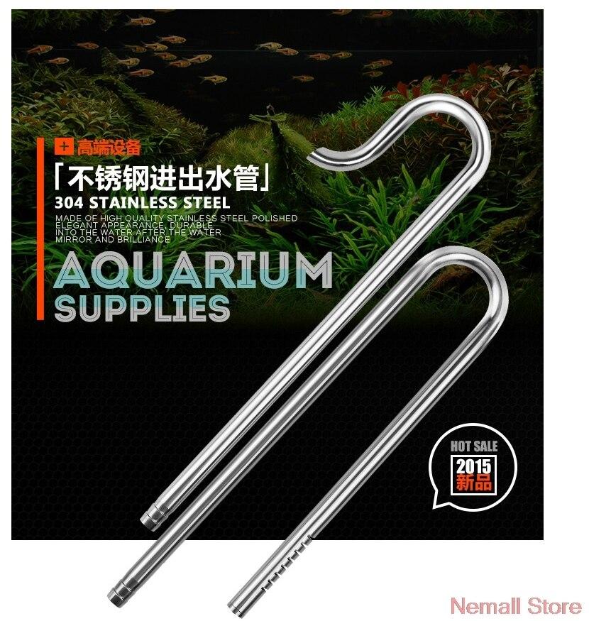Chihiros Lily Aquarium Apport Outflow Conduites D'eau Classe 1 Miroir Surface En Acier Inoxydable Filiters Fish Tank Plantes Pompe ADA Style
