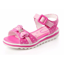 Girls Sandals Girls Summer New Dot Bow Kids Shoes For Girls
