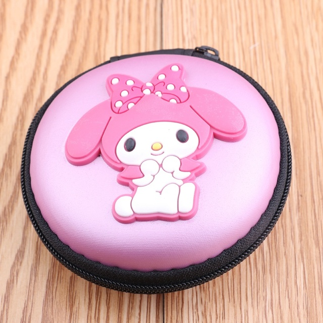 kids Girls Wallet Earphone Organizer Box Bags