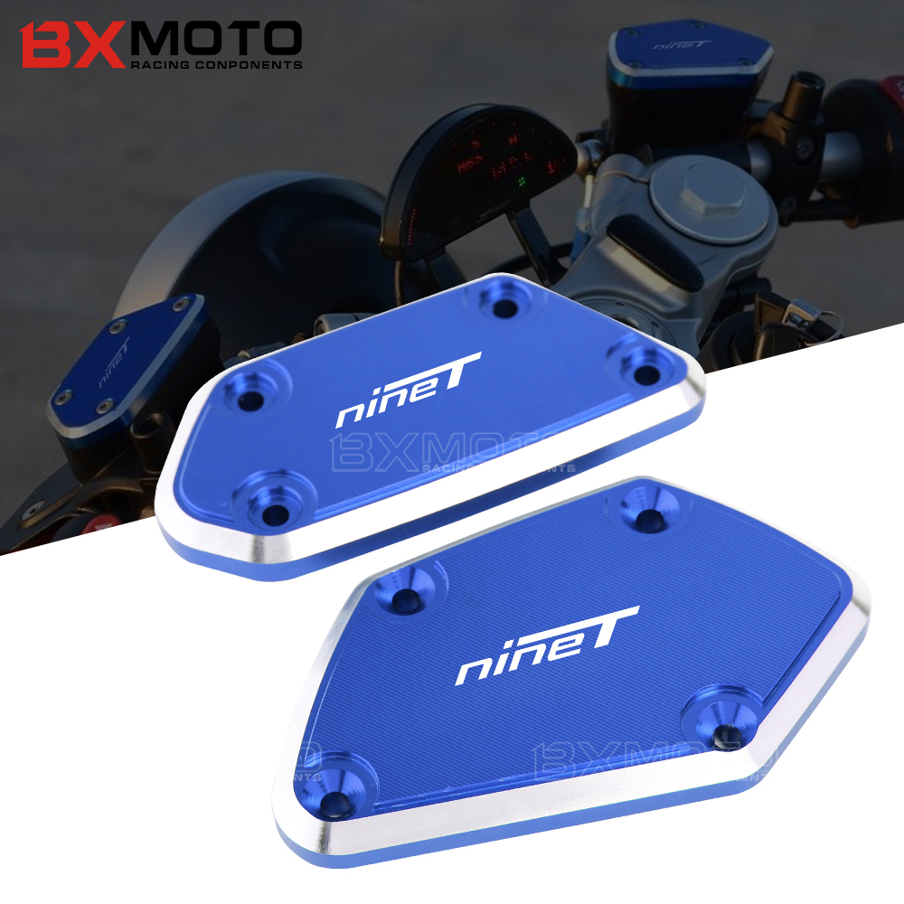 R nineT 2017 Front Brake & Clutch Reservoir Fluid Tank Cap Cover For BMW R nineT /Pure R nineT Racer R nineT Scrambler 2016 2017 large size 7cm 7cm motorcycle gsxr gsx r brake oil reservoir sock fluid tank cup cover cuff sleeve for suzuki blue black red