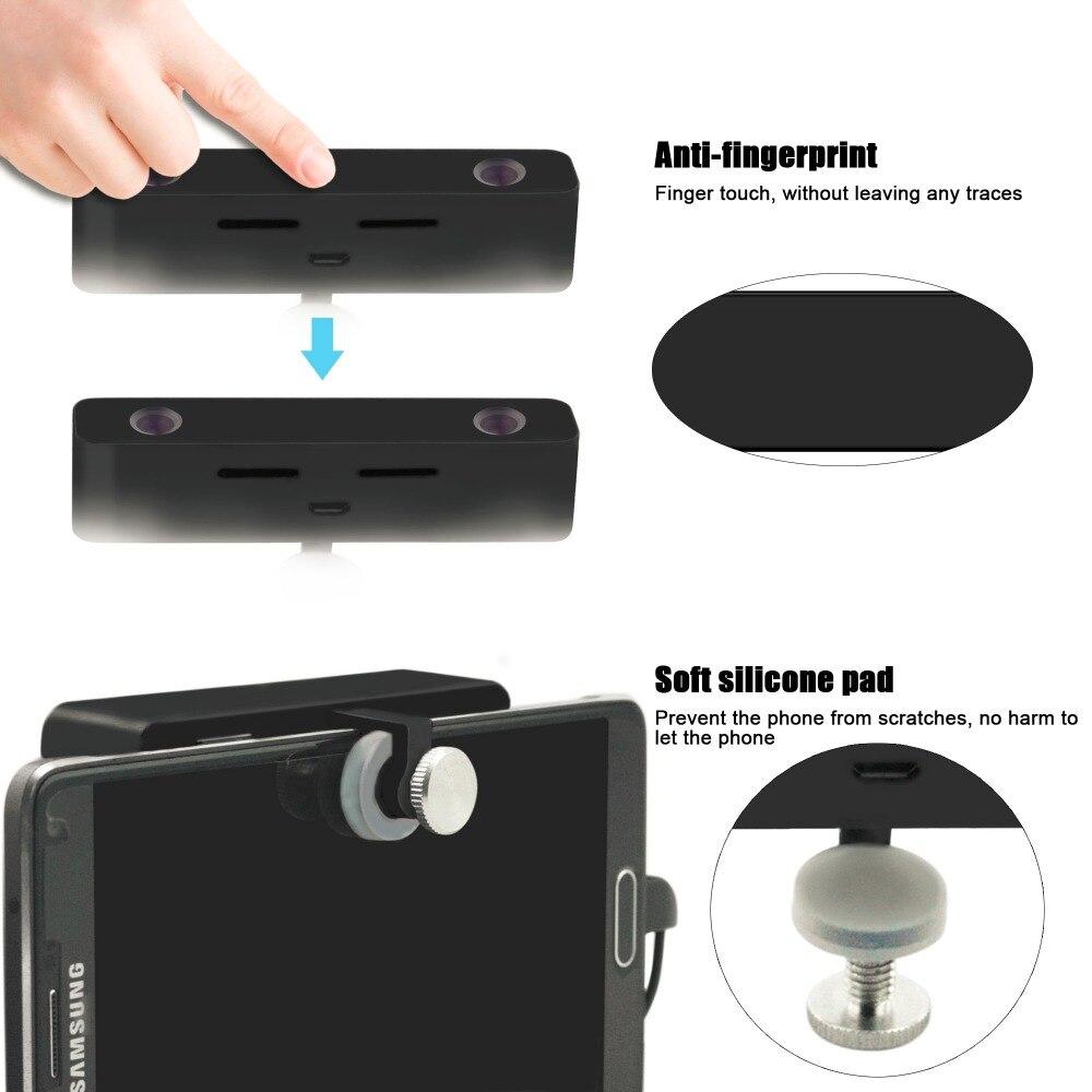 bilder für SVPRO HD Dual Objektiv 3D Virtuelle Realität VR Video Handy Externe Kamera für Android smartphone