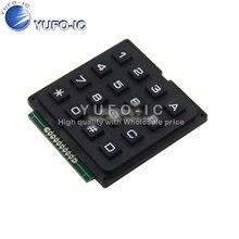 1 микрокомпьютерная клавиатура 4*4 4x4 матричная клавиатура 16 клавишная промышленная клавиатура inA scan