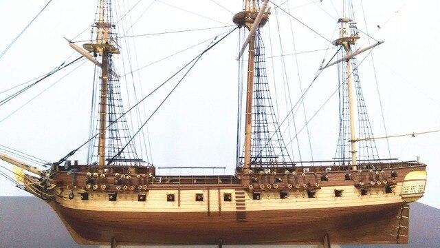 Klassieke Britse Oorlogsschepen Houten Model Kit Schaal 1 75 1794