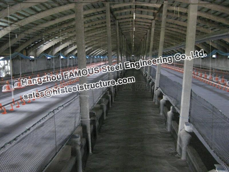 Pre-engineered Steel Framing Systems Breeding Cow / Horse