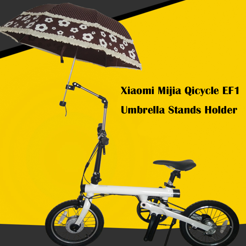 Umbrella Stands for Mini Foldable Xiaomi Smart Electric Scooter EF1 Mijia Qicycle E-Bike Scooters Umbrella Holder Rain Gear Tool