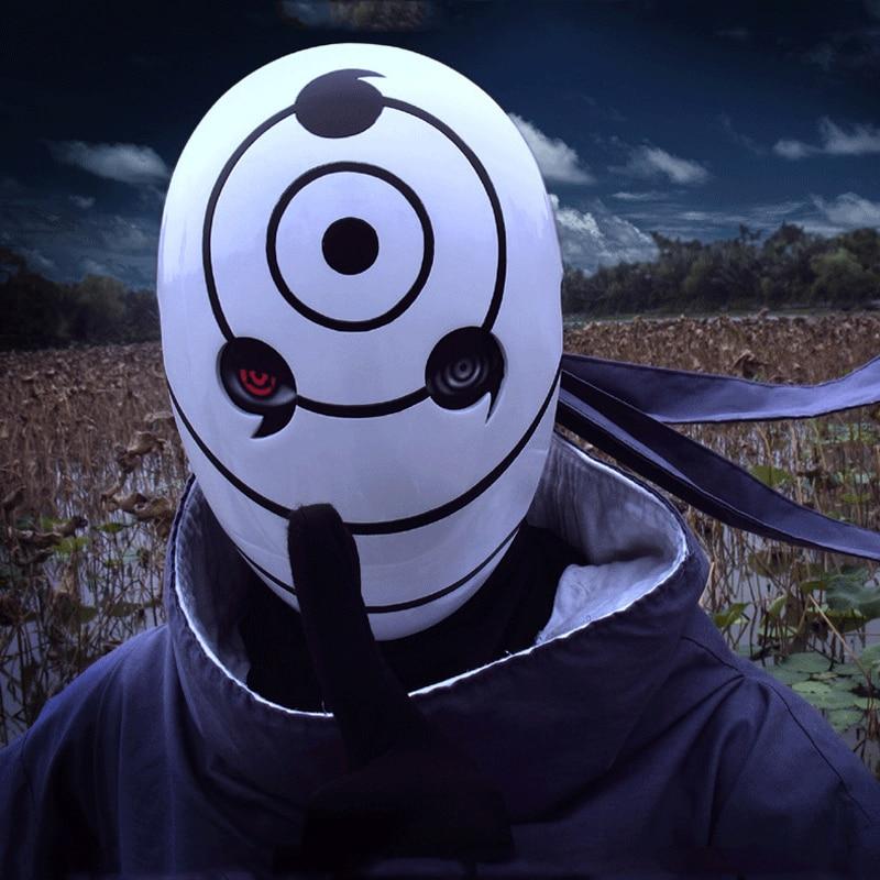 New Full Face Naruto Uchiha Madara/uchiha Obito/tobi Japanese Cosplay Masquerade Halloween Mask Anime Cartoon Costumes & Accessories