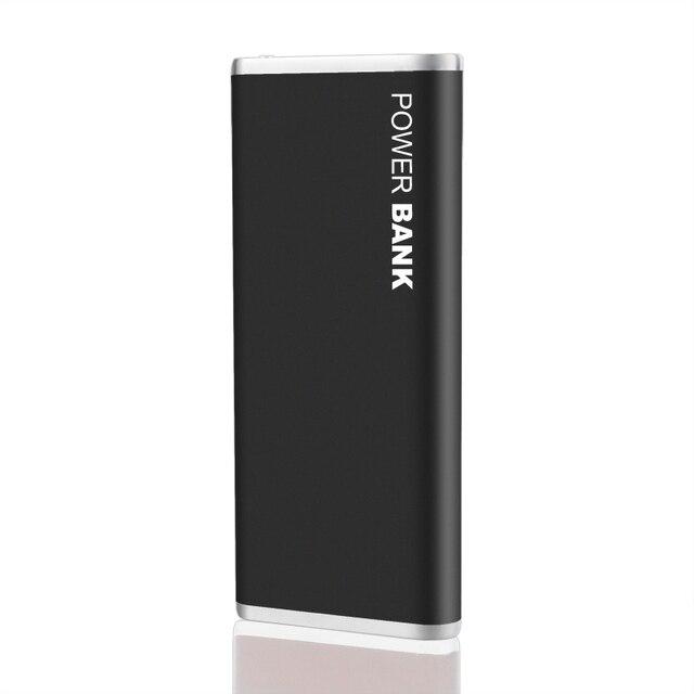 НОВЫЙ Мобильный Банк Питания 10000 мАч Dual USB Перезаряжаемые Внешняя Батарея powerbank Каррегадор Де Bateria Portatil