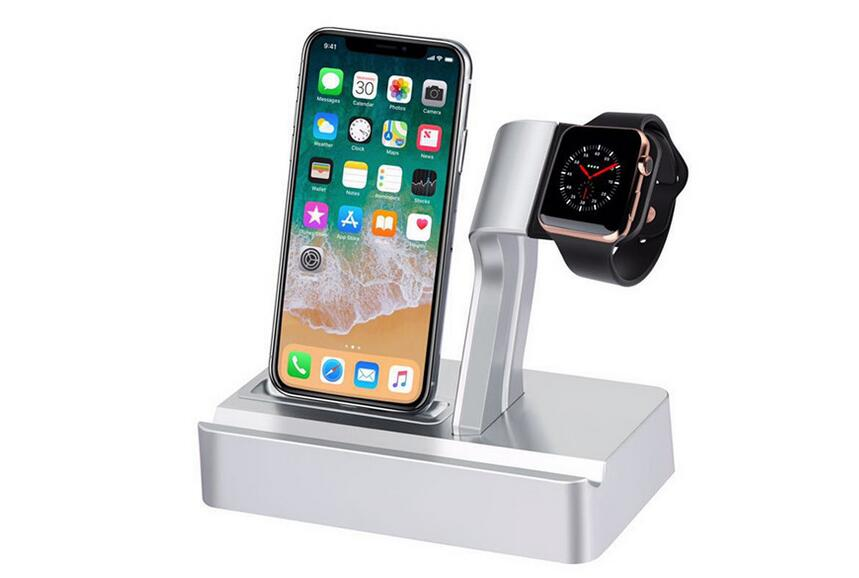 The new listing of the exclusive sales of Apple mobile phone support Iwatch watch charging base High-grade plastic