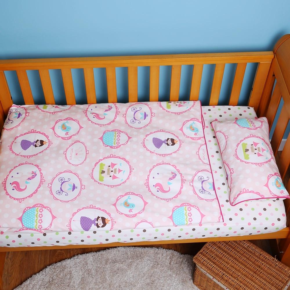 i-baby Baby Bedding - Pink Mała księżniczka taneczna 3PCS Printed - Pościel - Zdjęcie 4