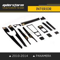 Riderstorm интерьер автомобиля ткань для porsche panamera интерьера стилей 970 Пользовательские Авто подкладке 2010 2014 Хорошо fitment