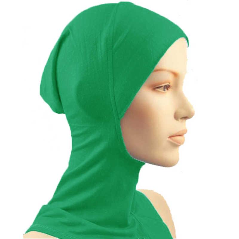 Nowość pod szalikiem czapka z daszkiem czapka z daszkiem hidżab islamskie nakrycie głowy osłona na szyję muzułmańska