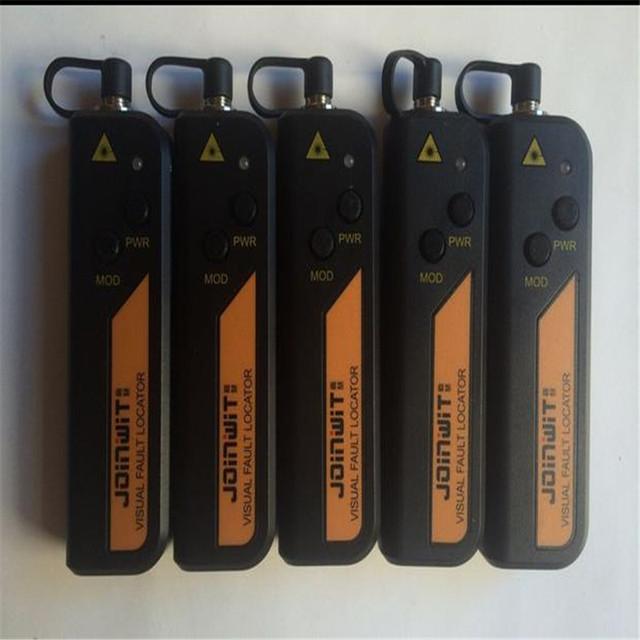 JW3105N 1 MW Fibra Óptica Cable Tester, alta Calidad visual de fallos localizador mini láser de mano, herramientas de Fibra óptica FTTH