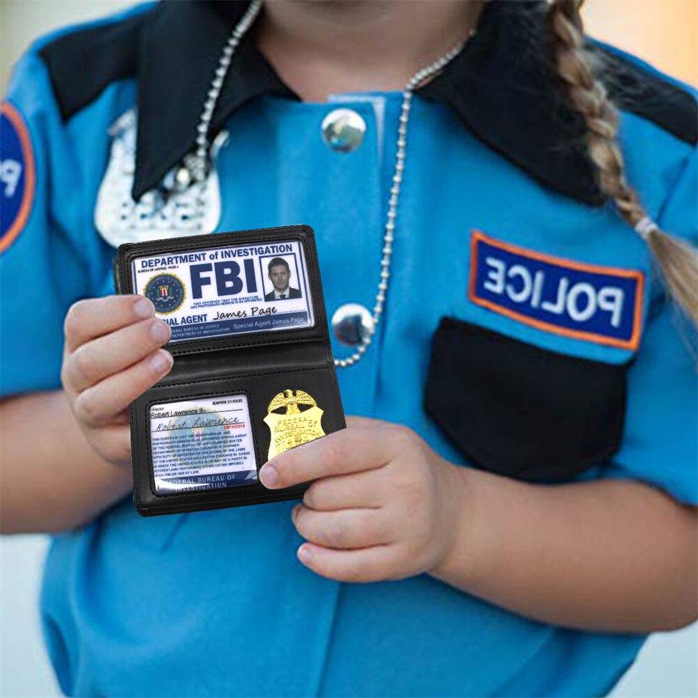 Jeu De Rôle Accessoires Surnaturel Doyen Sam Winchester Fbi Support De Badge Police Cartes D Identité Cosplay Jouet éducatif Aliexpress