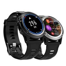 Venda quente H1 android 4.4 relógio Inteligente à prova d' água de 1.39 polegadas mtk6572 SmartWatch para android iPhone suporte 3G wifi GPS GSM SIM WCDMA