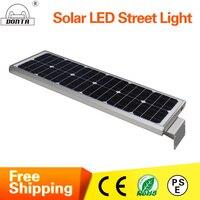 LED Solar Street Lamp DC 12V Solar Powered Integrated Led Street Light High Quality Outdoor Lighting