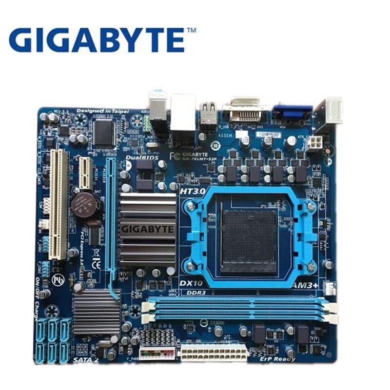 Gigabyte GA-78LMT-S2P  Socket AM3 AMD mATX Motherboard 78LMT-S2P