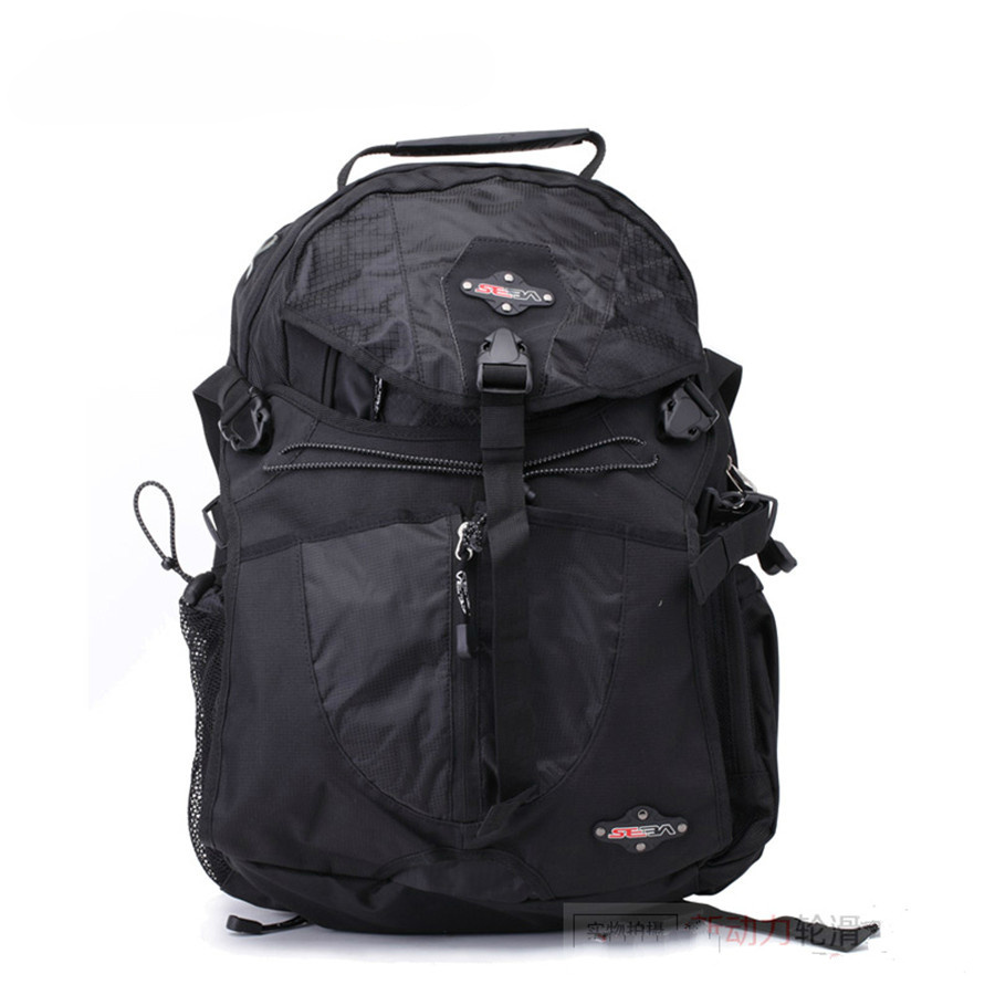 100% Original Black SEBA Skates Backpack Professional Inline Skating Bag Iron Net Patines Bag Good Quality Roller Camping Bag