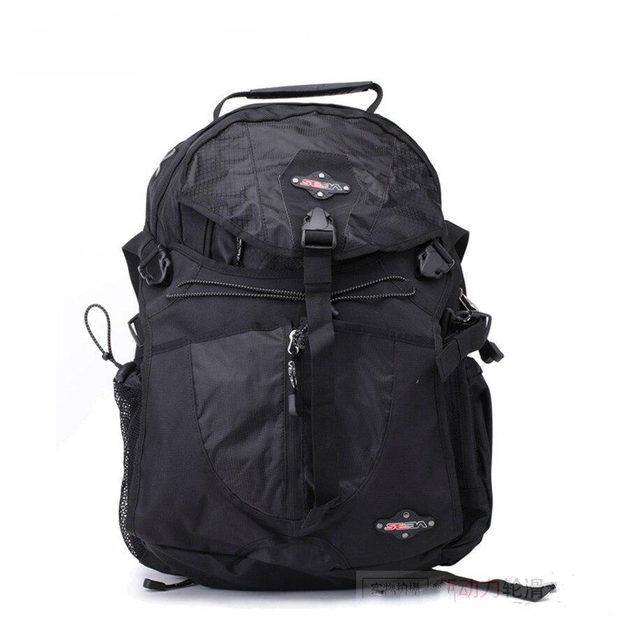 100% Original negro SEBA Patines mochila profesional patinaje en línea de Red de Hierro de Patines de buena calidad de Camping bolsa