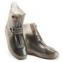 Unisex engrossar botas baixas duplo breasted travel overshoes capa de sapato de chuva reutilizável durável antiderrapante ajustável à prova dwaterproof água