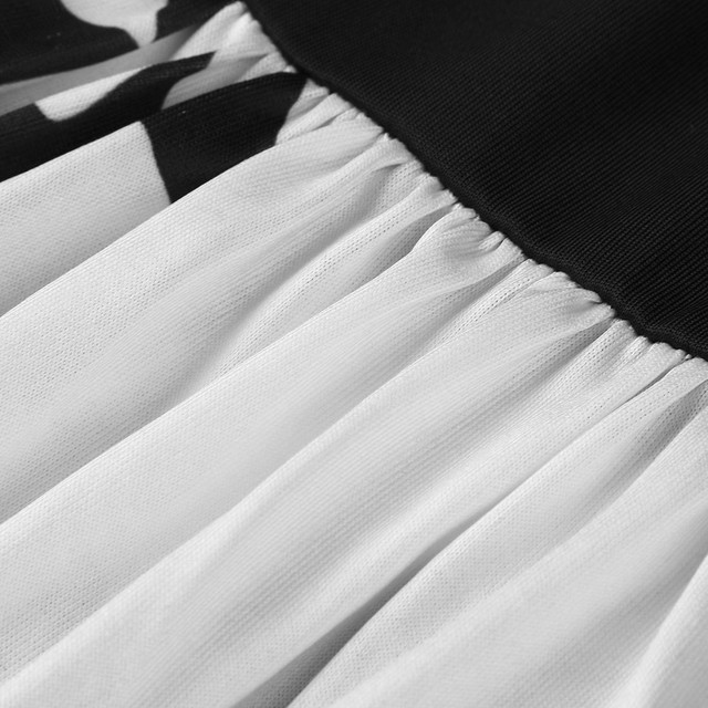 summer dress women 2019 robe femme vestidos de verano Casual Plus Size O-Neck Print Stitching Off-Shoulder Short Sleeve Dress Z4
