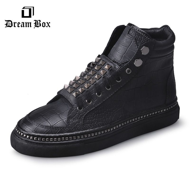 dreambox European and American popular logo leather shoes with heavy soles for men's shoes dreambox 800 hd крайот
