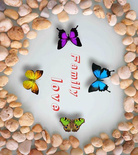 ФОТО customized 3d floor wallpaper Butterfly heart-shaped goose 3d stereoscopic wallpaper 3d floor tiles pvc self adhesive wallpaper