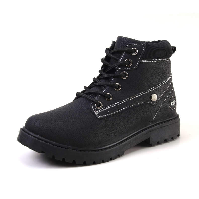 2017 High-grade children shoes genuine leather baby boys shoes martin boots waterproof breathable Lace-Up Ankle kids girls shoes kids shoes girls boys pu leather lace up high children sneakers girl baby shoes sport autumn winter children shoes