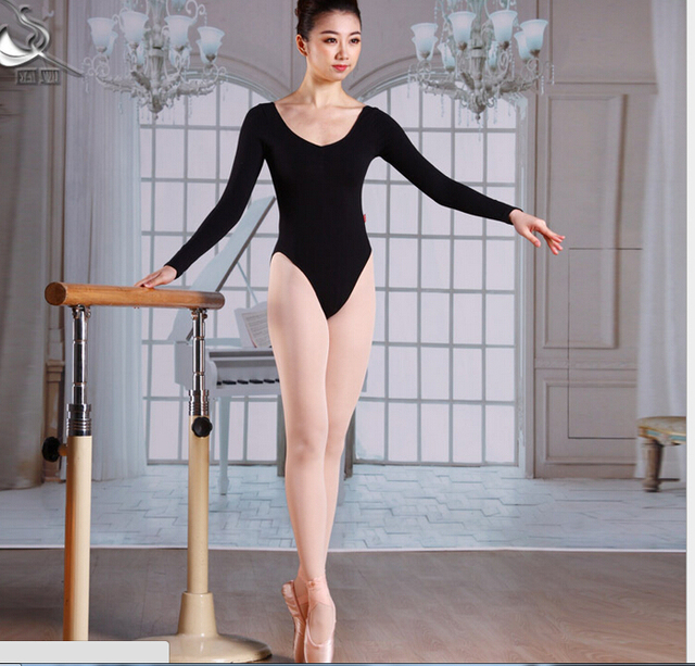 b2f7e3f36 Free shopping New Adult Ballet Leotard Dance Gymnastics Women Dance ...