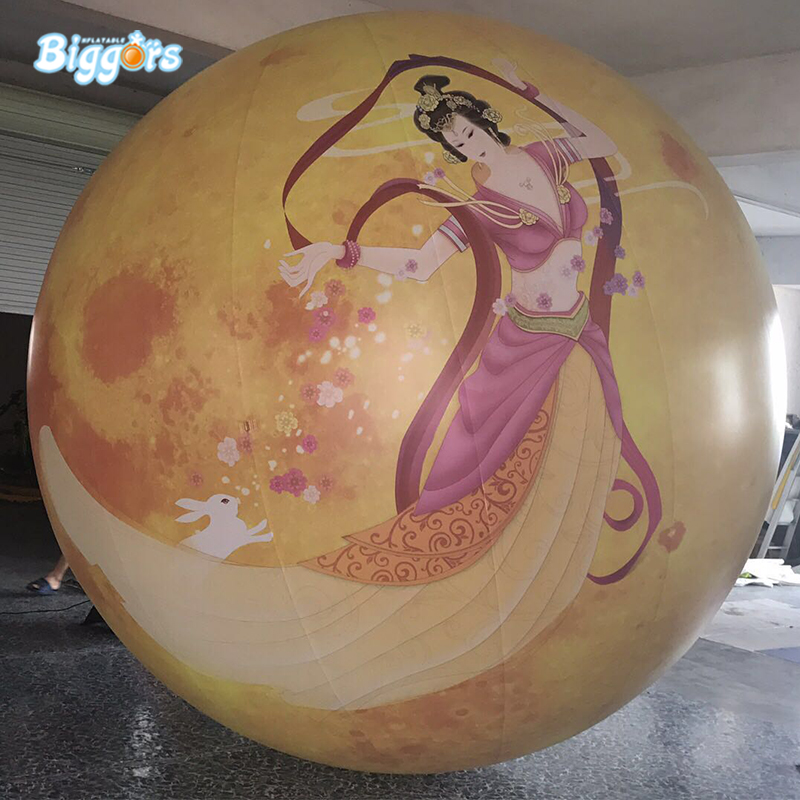 Customized Shape Outdoor Giant Inflatable Earth Globe Balloon For Advertising цена