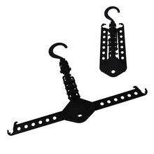 Hot Item Fold Foldway Closet Space Saver Organizer Hook Clotheshorse Clothes Hanger Rack Y1147