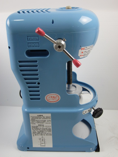 made in taiwan yukun pd0bii commercial use electric ice shaver snow cone maker - Commercial Snow Cone Machine