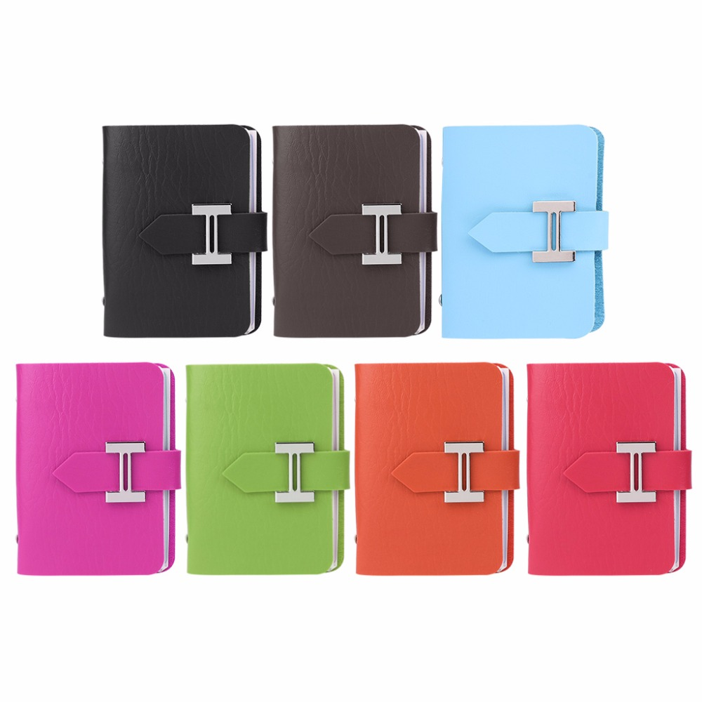 THINKTHENDO Colorgul Fashion Stylish Women Pouch ID Credit Card Business Cards Holder Organizer Case Pocket With 20 Card Slots thinkthendo 10 card sleeves clear pouch name id credit card holder case organizer keeper pocket with 10 20 business cards holder