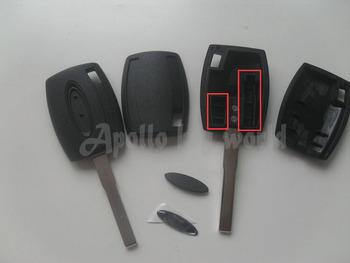 TRANSPONDER klucz SHELL CASE dla FORD FOCUS (można zainstalować układ) FOB pokrywa z jasnym LOGO 10 sztuk partia tanie i dobre opinie Tibikoo China car key Plastic and copper-nickel alloy A2016052036 0 04kg TRANSPONDER KEY SHELL FOR FORD TRANSPONDER KEY SHELL FOR FORD FOCUS
