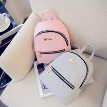 купить Simple Women's Contrast Change Small Backpack Winter New Travel Crossbody Shoulder Bag дешево