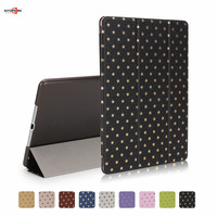 For Ipad Air Case 9 0inch Fashion Star Pattern Smart Magnetic Auto Sleep Air 1 Pu