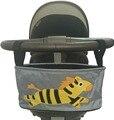 Cesta carrinho de bebê organizador saco de armazenamento de animais acessórios de carrinho saco de fraldas carrinho de bebe kinderwagen tasche