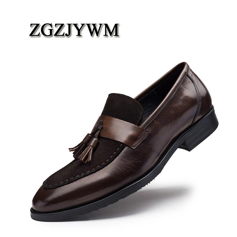 Mariage Bout Noir Véritable Slip D'affaires rouge Zgzjywm Pointu Bureau Chaussures Black Luxe Respirant Robe on Nouvelle Cuir red De Formelle xrCeWdBo